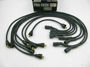 Tru tech 2412 Ignition Spark Plug Wire Set For 1973 1974 Checker 350 v8