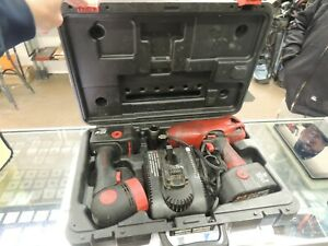 Snap on 18v 1 2 Cordless Impact Wrench Ct4850ho 2 Battery Light Nice