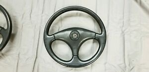 84 86 Capri Rs Steering Wheel Leather Wrapped Mustang Gt 3 Spoke Non Cruise
