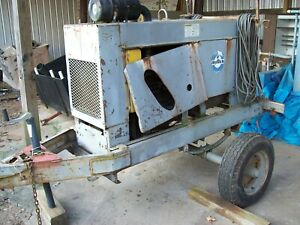 Older Non Working Miller Diesel Welder generator