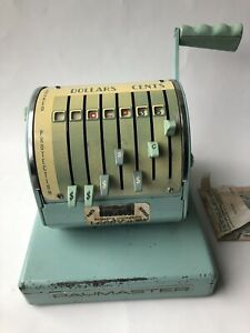 Paymaster Series X550 Check Writer 7 Column Check Writer With Cover No Key