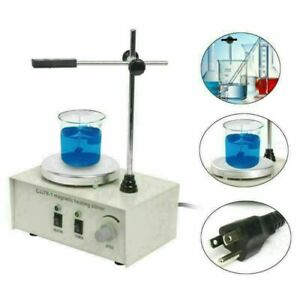 1000ml Magnetic Stirrer Hotplate Mixer With Heating Plate 78 1 110v 0 2400r min