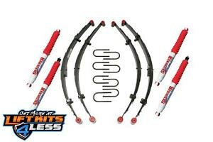 Skyjacker 2 5 Lift Kit W hydro Shocks Leaf Springs For 1987 95 Jeep Wrangler Yj