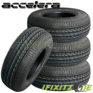 4 New Accelera Eco Plush 175 70r13 82h All season 45000 Mileage Warranty Tires
