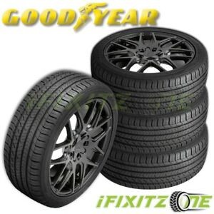 4 Goodyear Eagle Sport All Season 215 45r17 91w Xl 50k Mileage Warranty A s Tire