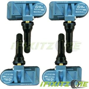 Itm Tire Pressure Sensor Dual Mhz Tpms For Volkswagen Touareg 2 07 10 qty Of 4