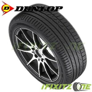 1 New Dunlop Signature Hp 215 45r17 91w Xl 45k Mile All Season Performance Tires