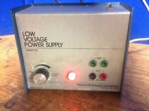 Science Kit Boreal Laboratories Low Voltage Power Supply 64250 10
