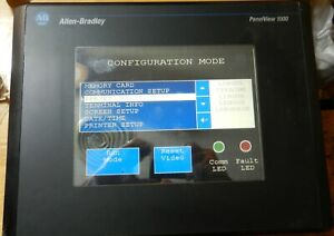 Allen Bradley Panelview 1000 2711 t10c8 Ser D Frn 4 48 In Good Tested Condition
