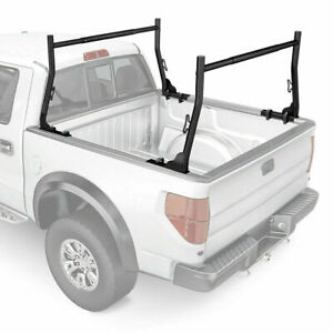 Adjustable 800lb Universal Pickup Truck Rack W clamps Lumber Kayak Utility