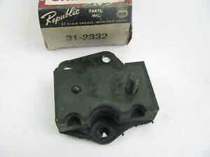Republic 31 2332 Front Right Engine Motor Mount 1968 71 Ford 390 428 v8