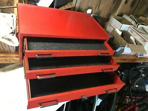 Vintage Matco Mechanic S Intermediate Middle Center 26 1 2 Tool Box Liners Key