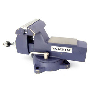 Palmgren 9629746 P746 6 Combination Bench Pipe Vise With Swivel Base