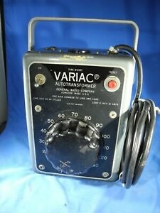 General Radio W10mt 0 To 135 Volts 10 Amps Autotransformer Variac tested