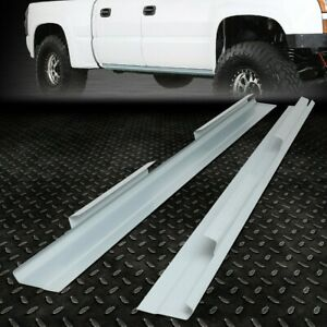 For 1999 2006 Chevy Silverado Gmc Sierra Crew Cab Outer Rocker Panels Pair
