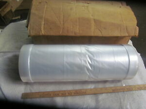 Roll Of Clear Plastic Bags 68 X 23 Approx 1000 Bags