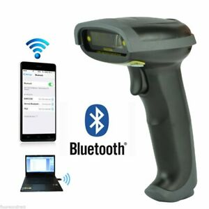 Wireless Bluetooth Barcode Scanner Handheld Usb Receiver Laser Rechargeable