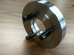 6 D1 4 D4 Semi finished Adapter Plate For 6 Lathe Chucks adp 06 d4sm new