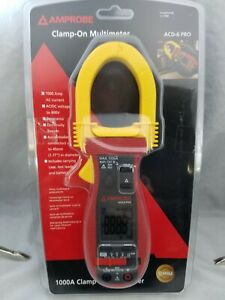 Amprobe Acd 6 Pro Digital Clamp Meter 1000a 600v Free Shipping 1