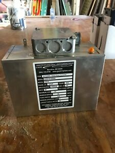 220v To 3 Phase Converter 10hp Smith Motorworks Excellent Condition