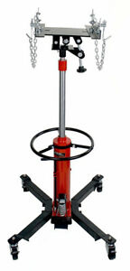 Techtongda 2 Stage Hydraulic Transmission Jack 0 6t Swivel Wheels Lift Hoist