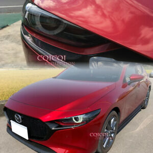 2 Pcs Painted 2019 Mazda 3 Hatchback Eyelid Eyebrows Eyelids All Color