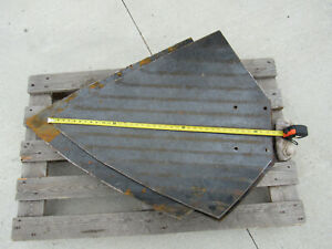 Tree Spade New Blades 1 4 Thick 39 Long 27 Wide lot Of 3 we Ship Freight