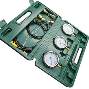 Techtongda Hydraulic Pressure Test Kit 12 Test Coupling Testing Tools