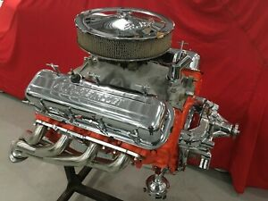 402 Big Block Chevy Engine High Performance 1971 Bbc Similar To 396 427