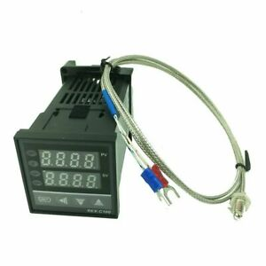 Digital Pid Temperature Controller Standing Thermostat With K type Probe Sensors