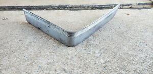 90 91 92 Cadillac Brougham Front Bumper Impact Strip Left Side Driver Side Oem