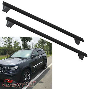 Roof Rack Cross Bars Luggage Carrier W Side Rails For Jeep Grand Cherokee 11 19