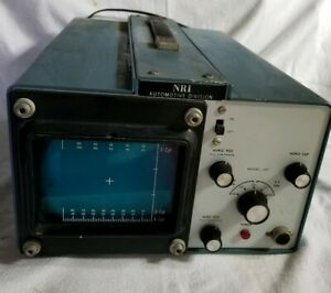 Vintage Heathkit Solid State Ignition Analyzer Model Woc 1015 Powers On No Leads