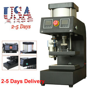 13000psi Pneumatic Rosin Small Plane Press Hot pressing Machine Double sided New