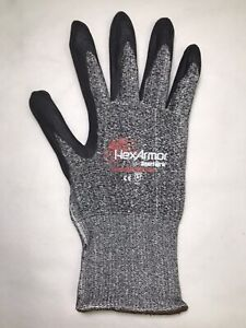 Hexarmor 9010 Superfabric Cut Resistant Work Gloves Lot Of 12 Pairs