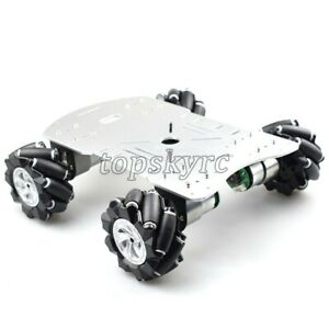 4wd 60mm Mecanum Wheel Robot Car Chassis Kit Suspension Car Platform Arduino Diy