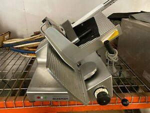 2012 Bizerba Gsp h Manual Commercial Gravity Feed Deli Meat Cheese Slicer