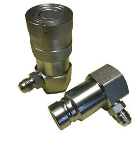 Hydraulic Quick Couplings flush Face flat Face Set 1 2 Grapple Type