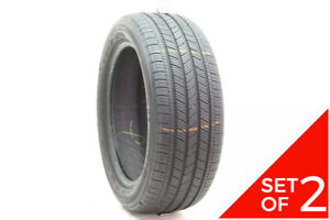 Set Of 2 Used 225 50r17 Michelin Energy Saver A s 94v 7 5 32