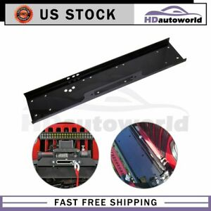 36 Winch Mounting Plate For 13000lb Truck Trailer Us Stock New