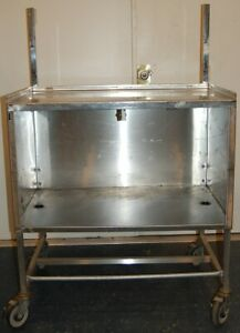 36 x24 x55 Stainless Steel Sample Table cart Food Kitchen Restaurant