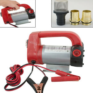 Portable 12v 155w Electric Diesel Oil And Fuel Transfer Extractor Pump Motor