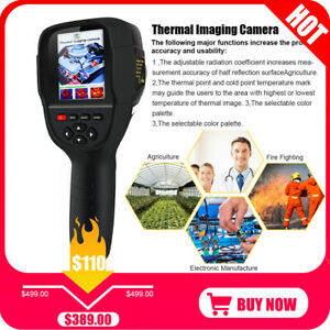 Digital Thermal Imager Ir Thermometer Infrared Thermal Camera Healthy Tft