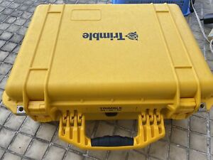 Original Trimble Pelican Yellow Rugged Case For R8 Gnss R6 R4 5800 Survey Rover