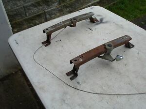 1964 1965 Bench Seat Tracks Cable A Body Chevrolet Olds Buick Pontiac Gm Oem