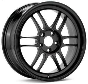 Enkei Rpf1 18x9 5 5x114 3 38mm Matte Black Wheel 3798956538bk