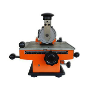 Techtongda Small Manual Semi automatic Sheet Embosser Without Letter Wheel