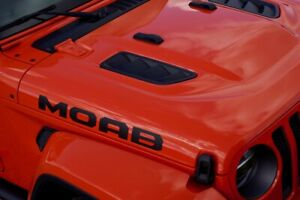 Moab Hood Decal Kit For Your Jeep Wrangler Jl Or Gladiator Jt 2018 To Present
