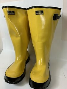 Overboots Rubber Boots Sze 12 Concrete Construction Fishing Water Protection