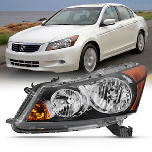 For 08 12 Honda Accord Sedan Factory Style Replacement Headlight L Driver Side